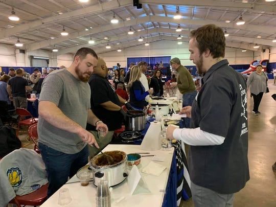 Different first responders will bring their own pot of chili for the chili cookoff.