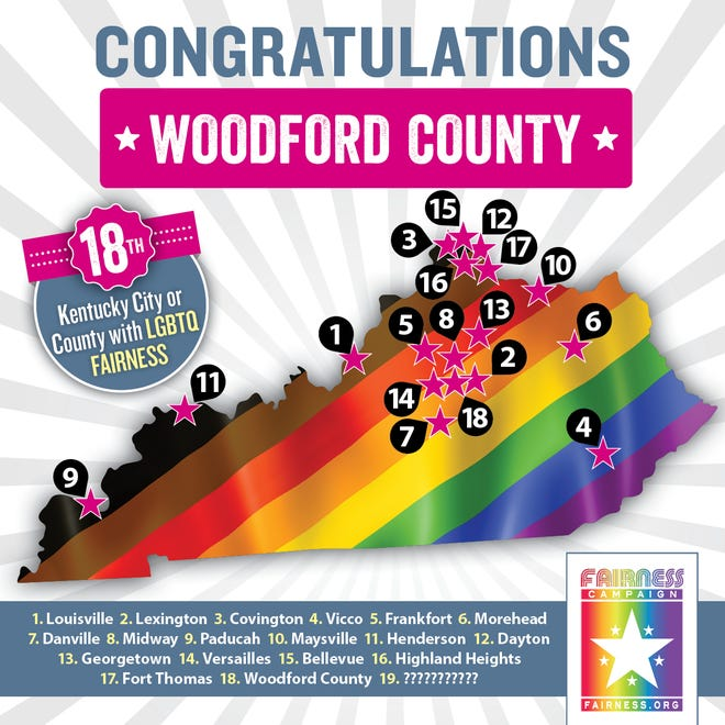 Woodford County passed a Fairness Ordinance Tuesday