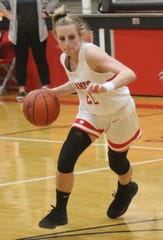 Mansfield Christian's Elle Schmitz has the Lady Flames at No. 7 in the Richland County Girls Basketball Power Poll.
