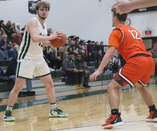 Madison's Tyler Tackett broke out of a scoring slump with 21 points in a win over West Holmes last week.
