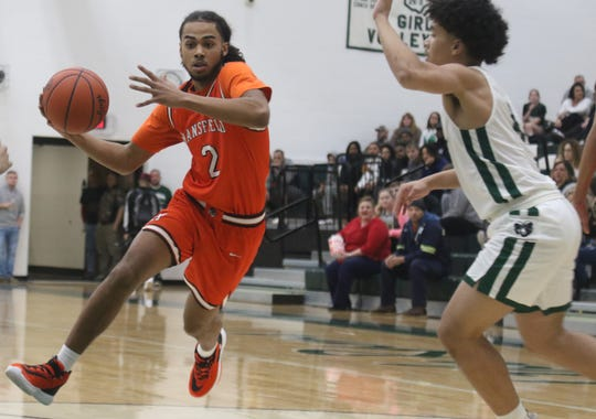 Mansfield Senior's Roger Merrell III scored 22 points in a 68-39 Tyger win over the Madison Rams on Tuesday night.