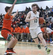 Madison's Tyler Tackett has the Rams at No. 8 in the Richland County Boys Basketball Power Poll.
