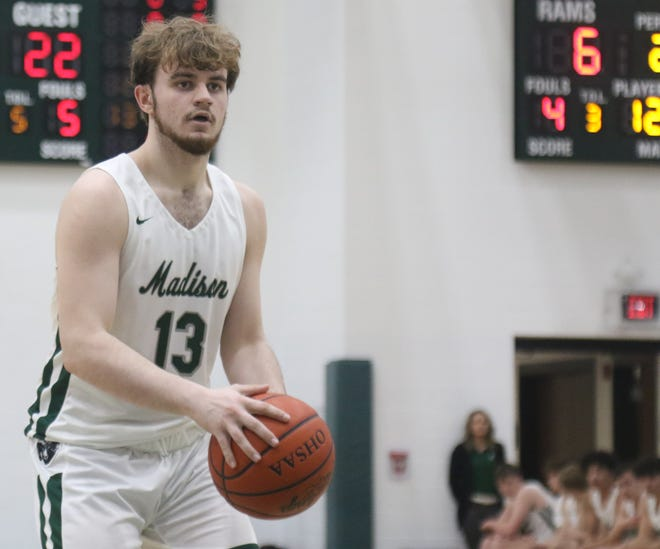 GALLERY: Mansfield Senior at Madison Boys Basketball