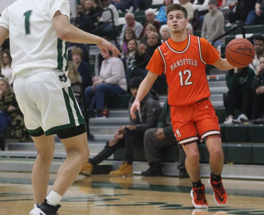 Mansfield Senior's Shad Creamer scored 14 points in a win over Madison on Tuesday.