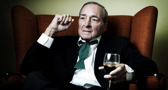 Photographer William Eggleston is photographed in Los Angeles in 2010.