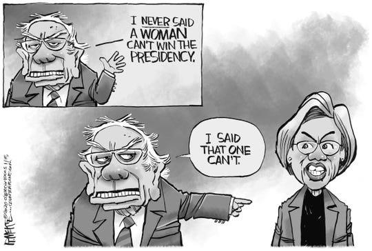 Bernie and Warren