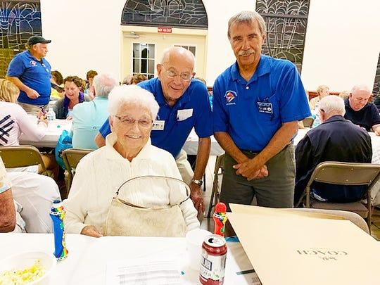 The Knights of Columbus San Marco Council #6344 held a Bingo night charity fundraiser Jan. 9 in the San Marco Parish Center. The Coach bag winner was Joan Gramza of Buffalo, New York.