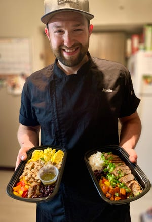 Austin Vetter of Mequon strives for local foods with his  Freshchef Meal Prep  business.