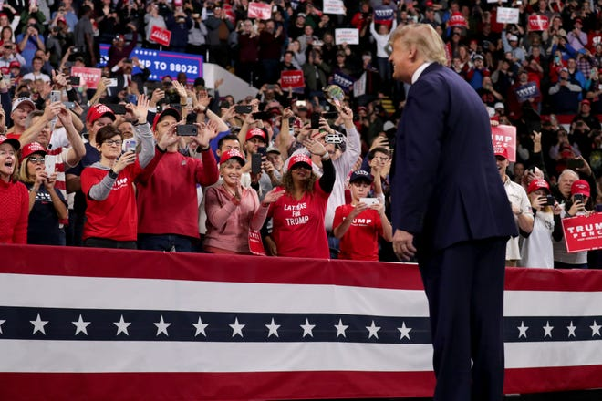 President Donald Trump's Milwaukee campaign rally was good business for the UW-Milwaukee Panther Arena.