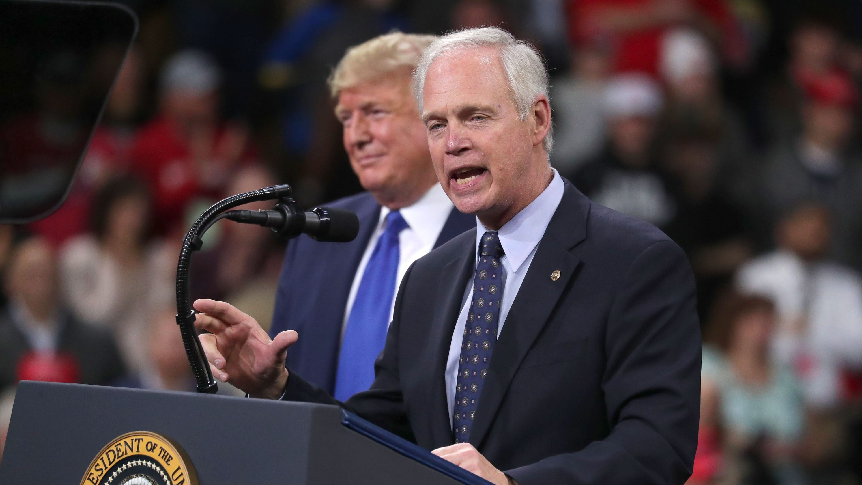 Ron Johnson tried to save job of impeachment witness Gordon Sondland