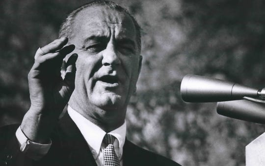 President Lyndon B. Johnson visits Milwaukee and Wisconsin in 1964.