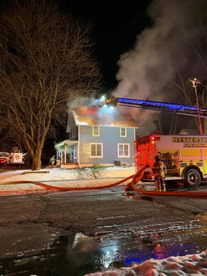Crews fought an Oconomowoc fire for hours in the early morning of Jan. 15.