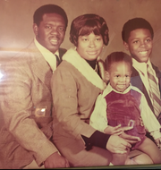 From left, William, Virginia, Brian and Bill Gary pose in this undated family photo.