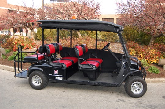 IU Health Ball Memorial Hospital now offers a park-and-ride shuttle service from its main parking lot to the front entrance.