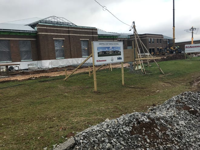 A new middle school on Henpeck Lane in central east Williamson County is under construction. The school is expected to open in August.