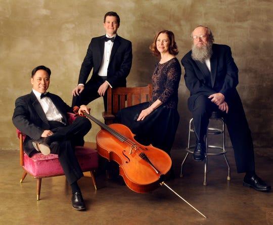 The acclaimed Blair String Quartet is part of Vanderbilt's spring lineup.
