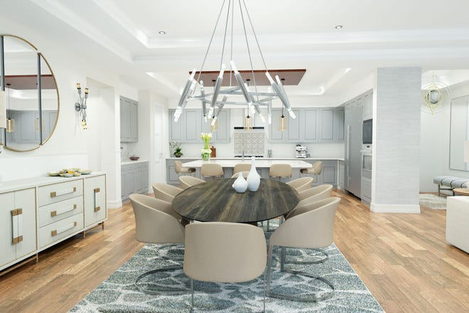 The spacious floor plans at Quattro were designed to live like a single-family home.