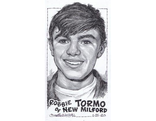 Robbie Tormo, New Milford track & field
