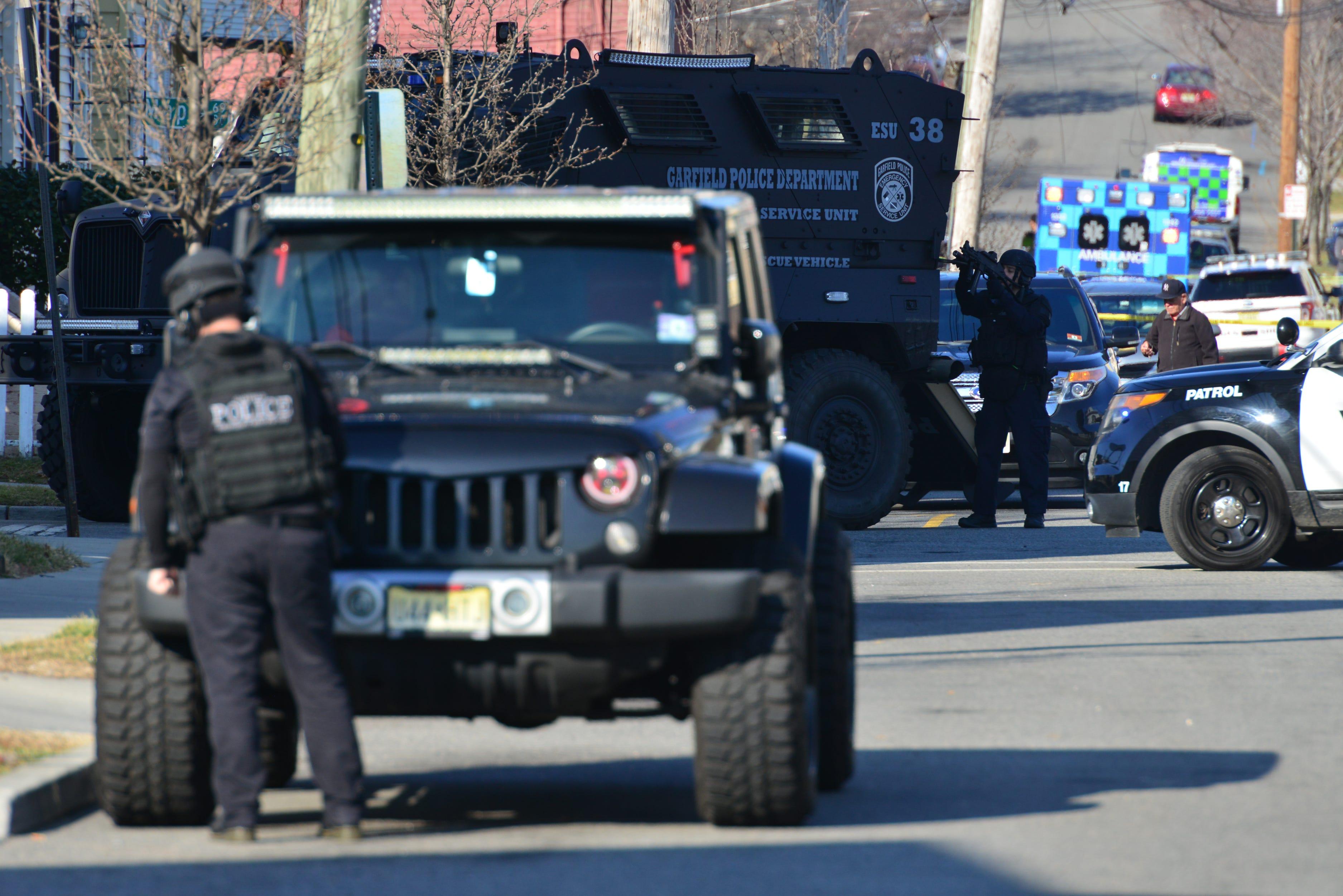 Swat Response Closes Garfield Nj Streets After Gunfire Report