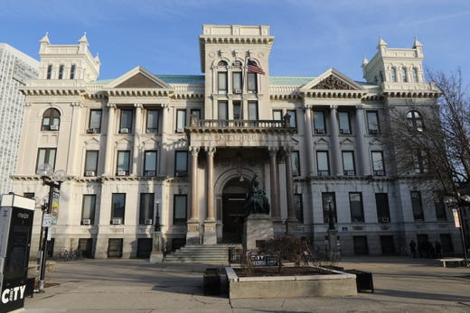 Jersey City City Hall Wednesday, January 15, 2020