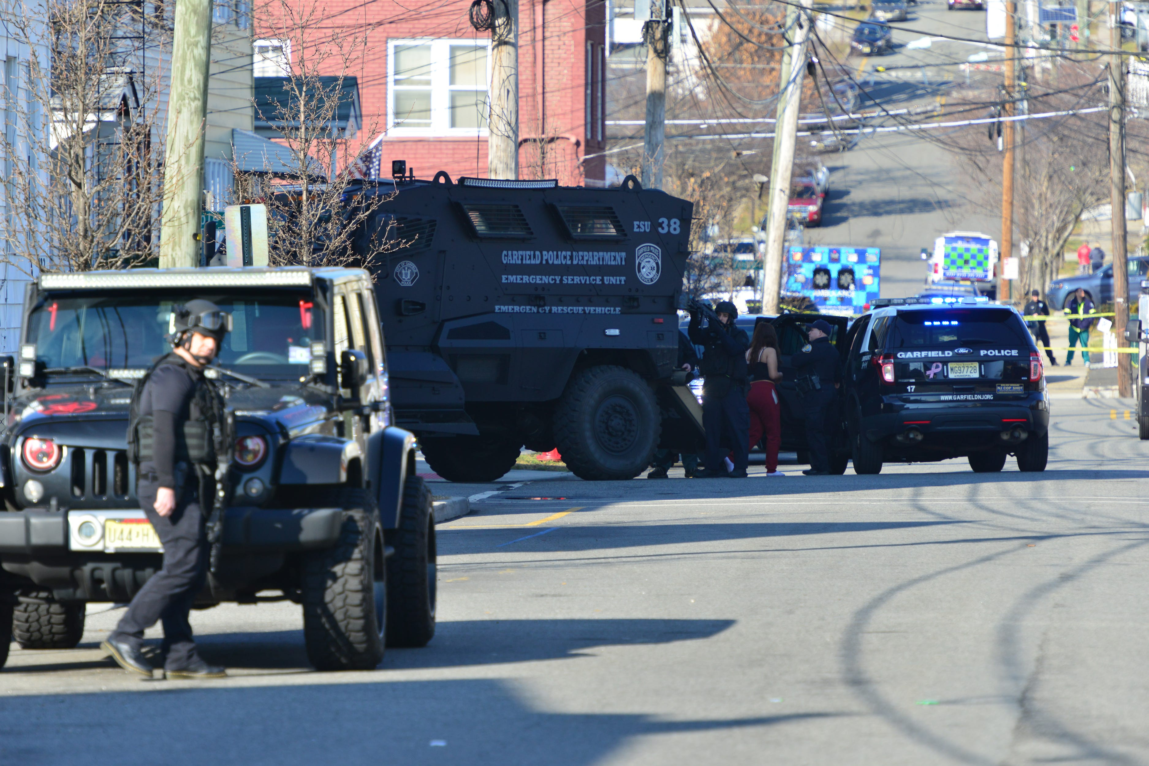 Swat Response Closes Garfield Nj Streets After Gunfire Report