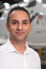 Enrico Palermo, Virgin Galactic's new Chief Operating Officer as announced on Wednesday, Jan. 15, 2020.