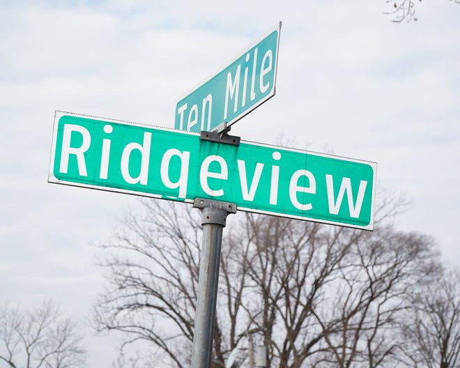 A new residential housing development is proposed near the corner of Ten Mile and Ridgeview in Farmington Hills.