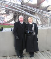 Hank and Barbara Hogan enjoyed travel adventures all around the world. On a trip to Chicago they visited Millennium Park.