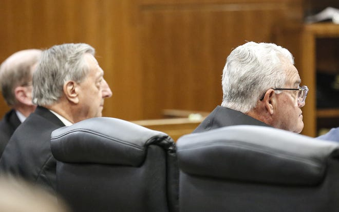 Former University of Wisconsin-Oshkosh administrators Tom Sonnleitner and Richard Wells pleaded guilty Wednesday, Jan. 15, 2020, in Winnebago County Circuit Court to one count each of misconduct in office in excess of their authority as part of a plea deal with prosecutors.