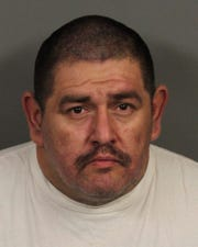 Indio resident Fred Garcia, 44, is accused of witness intimidation and being an accessory to murder. He was arrested Jan. 15, 2020 in connection to the death of a woman discovered one day earlier on Rancho Los Coyotes in Indio.