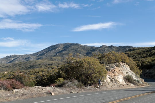 Santa Rosa Band of Cahuilla Indians tribal land is located off of Highway 74 in Mountain Center, Calif.