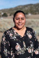 Vanessa Minott, tribal administrator for Santa Rosa Band of Cahuilla Indians stands on tribal land on Wednesday, Jan. 15, 2020.
