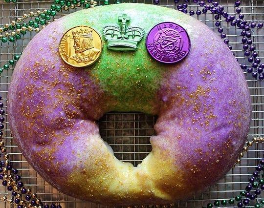 Le Dough's vegan king cake is a proven hit in Pensacola.