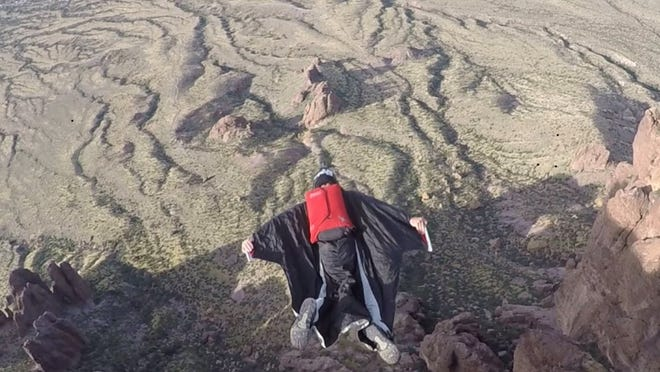 Craig Leavitt, an Arizona BASE Jumper, acknowledges the dangers of the sport but shares his passion for it.