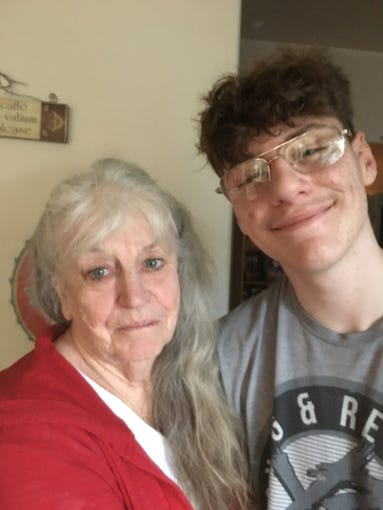 Melodie Passmore and her husband, Randy, took in their 15-year-old grandson Collin Clabaugh after both of his parents died. Now a Prescott HOA in a senior living community is trying to force Collin to move out.