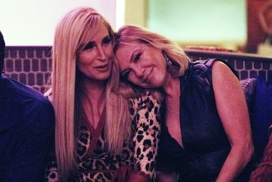"Sonja Morgan and Ramona Singer in ""The Real Housewives of New York City."""