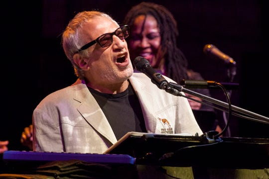 Donald Fagen of Steely Dan onstage at Beacon Theatre on October 10, 2015 in New York City.