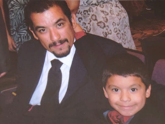 Carlos Chavez Aguirre and son