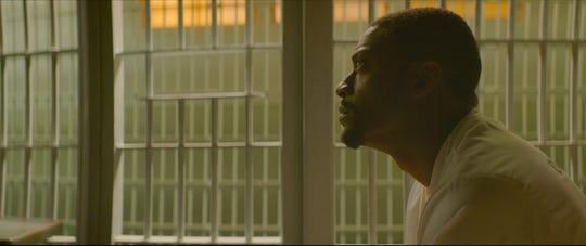 "Aldis Hodge plays a death-row prisoner in ""Clemency."""