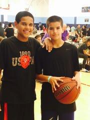 Dayton Harris and Dominic Capriotti.