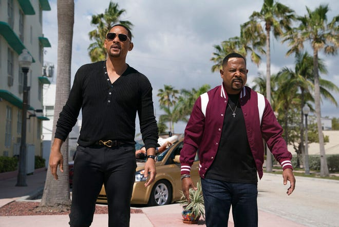 """Martin Lawrence, right, and Will Smith star in """"Bad Boys for Life."""" The movie opens Thursday at Regal West Manchester, Queensgate Movies 13 and R/C Hanover Movies 16."""