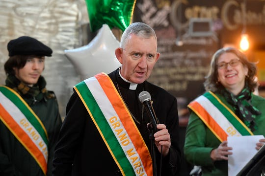 """The 37th Annual York Saint Patrick's Day Parade Committee announce Patrick J. """"Paddy"""" Rooney as the 2020 Grand Marshal, Wednesday, January 15, 2020. John A. Pavoncello photo"""