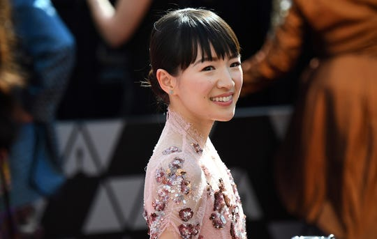 Organizing guru Marie Kondo arrives for the 91st Annual Academy Awards at the Dolby Theatre in Hollywood, California on February 24, 2019. (Robyn Beck/AFP/Getty Images/TNS)