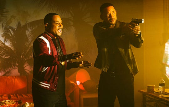 "Martin Lawrence, left, and Will Smith star in ""Bad Boys for Life."""