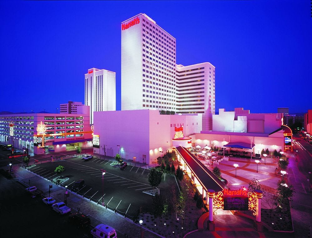 Harrah's Reno to be sold and will cease gaming operations