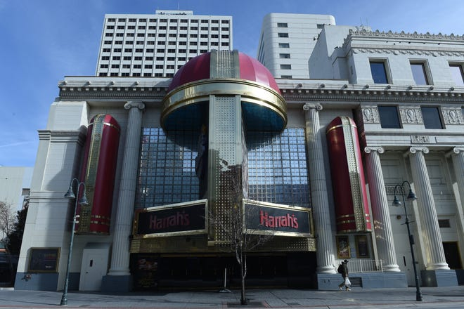Caesars Entertainment announced Harrah's Reno will be sold to an affiliate of CAI Investments for $50 million. The hotel-casino began life as a bingo parlor in downtown Reno in 1937.