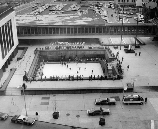 The 11th annual opening of Xerox Square Skating Rink.