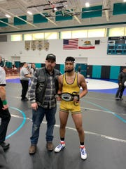 Everett Alvarez senior Jonathan Gaytan took home first at the 10th Annual Bert Mar Tournament at Christopher High School this past weekend.