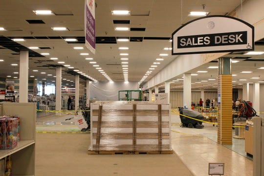 Boscov's recently added an 18,000 square foot expansion to its Salisbury location. The space will eventually house the store's furniture department. Wednesday, Jan. 15.