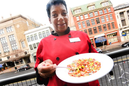 Chef Tootie Morrison loves a midnight snack of cereal with milk. It's one of her guilty food pleasures.